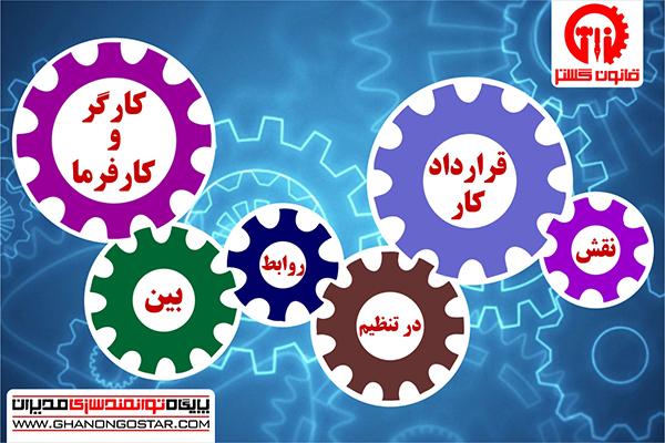 نقش قرارداد کار در تنظیم روابط بین کارگر و کارفرما